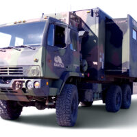 Expedition Vehicle - Converted Military M1087FMTV Command Center